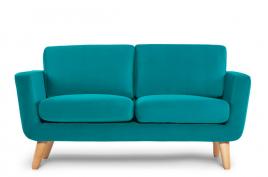 Sofa dwuosobowa DINA turkusowy