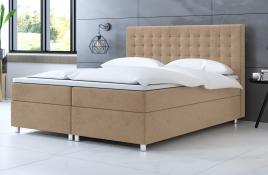 Łóżko kontynentalne TROMSO ecru casablanca