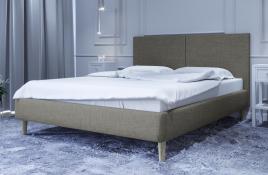 Łóżko tapicerowane SINTRA zielona sawana