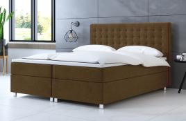 Łóżko kontynentalne TROMSO beżowe casablanca