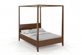 Łóżko drewniane sosnowe KLARA dąb
