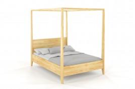 Łóżko drewniane sosnowe KLARA naturalny