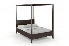 Łóżko drewniane sosnowe KLARA palisander