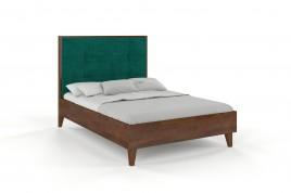 Łóżko drewniane sosnowe RIDA orzech