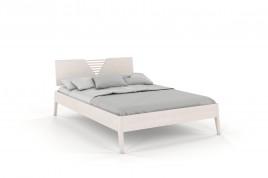 Łóżko drewniane bukowe KAJA biały
