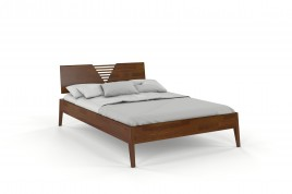 Łóżko drewniane sosnowe KAJA orzech