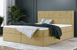 Łóżko kontynentalne AVESTA ecru monolith