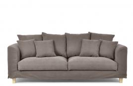 Sofa trzyosobowa BALI brązowy