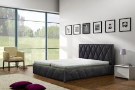 Łóżko tapicerowane Blois z pojemnikiem