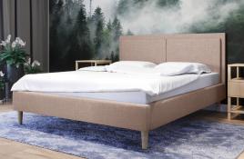 Łóżko tapicerowane BRAGA ecru sawana