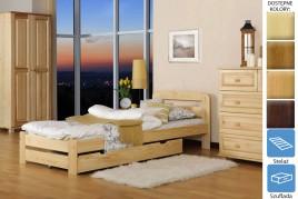 Łóżko drewniane Bukareszt z szufladą