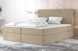 Łóżko kontynentalne ATIMA ecru casablanca