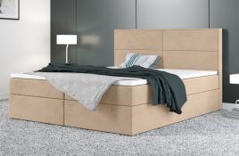 Łóżko kontynentalne AVESTA ecru casablanca