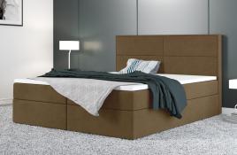 Łóżko kontynentalne AVESTA beżowe casablanca