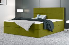Łóżko kontynentalne AVESTA zielone casablanca