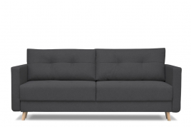 Sofa trzyosobowa CUBA ciemny szary