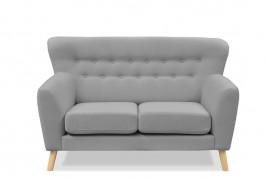 Sofa dwuosobowa ALASKA szary