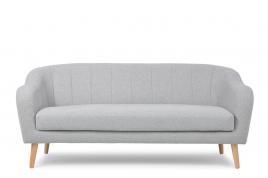 Sofa trzyosobowa SCANDI jasny szary