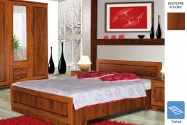 Łóżko z płyty Dina
