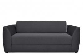 Sofa dwuosobowa GALL ciemny szary / turkusowy