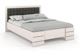 Łóżko drewniane Goti z pojemnikiem biały