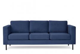 Sofa trzyosobowa TORONTO granatowy