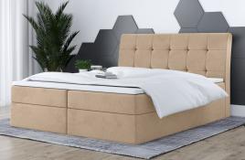 Łóżko kontynentalne HAMAR ecru casablanca