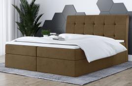 Łóżko kontynentalne HAMAR beżowe casablanca