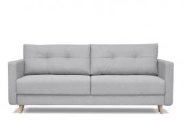Sofa trzyosobowa CUBA jasny szary