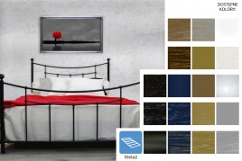 Łóżko metalowe Kama