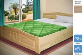 Łóżko drewniane Kamila z szufladą
