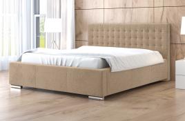 Łóżko tapicerowane LAGOS ecru casablanca