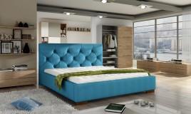 Łóżko tapicerowane Lavel z pojemnikiem