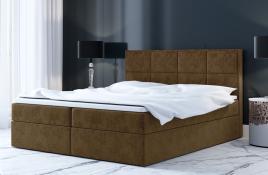 Łóżko kontynentalne MOLDE beżowe casablanca