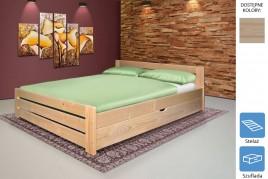 Łóżko drewniane Marzena z szufladą