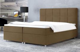Łóżko kontynentalne NAZARE beżowe casablanca
