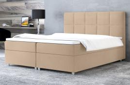 Łóżko kontynentalne NAZARE ecru casablanca