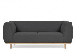 Sofa dwuosobowa PUMA ciemny szary