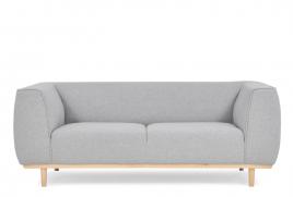 Sofa dwuosobowa PUMA jasny szary