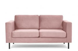Sofa dwuosobowa TORONTO różowy