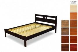 Łóżko drewniane Saba
