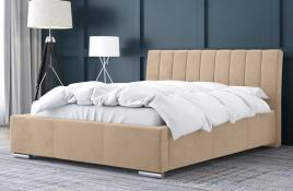 Łóżko tapicerowane SAGRES ecru casablanca