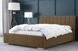 Łóżko tapicerowane SAGRES beżowe casablanca