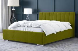 Łóżko tapicerowane SAGRES zielone casablanca