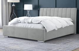 Łóżko tapicerowane SAGRES szare casablanca