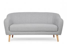 Sofa dwuosobowa SCANDI jasny szary