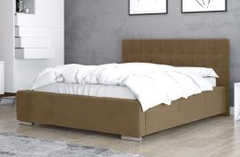 Łóżko tapicerowane SINES beżowe casablanca