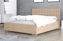 Łóżko tapicerowane SINES ecru casablanca