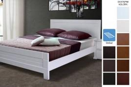 Łóżko drewniane Sneek