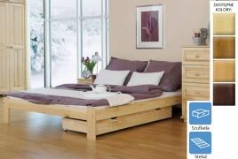 Łóżko drewniane Teneryfa z szufladą